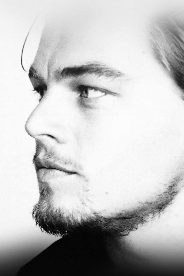 Leonardo Dicaprio Face Film Star Iphone 7 Wallpaper