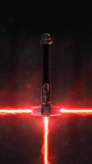 Lightsaber Red Starwars Art Film iPhone 7 wallpaper