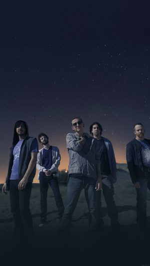 Linkin Park Space Music Stars Celebrity iPhone 7 wallpaper