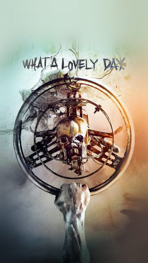 Lovely Day Madmax Poster Film Art iPhone 7 wallpaper