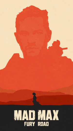 Mad Max Fury Road Poster Film Art Illustration iPhone 7 wallpaper