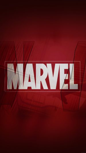 Marvel Logo Film Art Illust Minimal iPhone 7 wallpaper