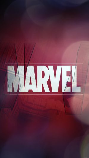 Marvel Logo Film Art Illust Minimal Bokeh iPhone 7 wallpaper