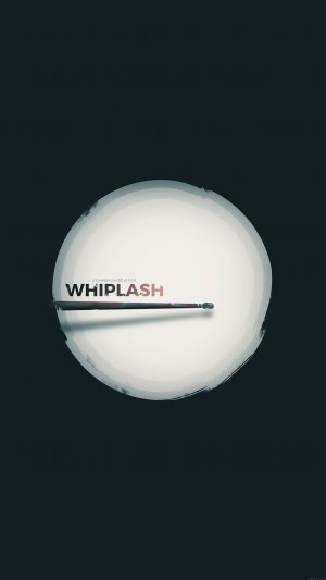 Minimal Whiplash Poster Film Music Drum iPhone 7 wallpaper