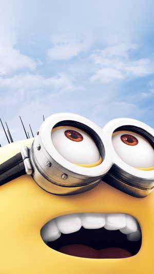 Minion Art Cute Illustration Film iPhone 7 wallpaper