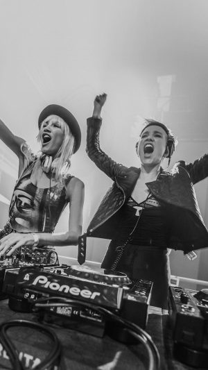 Miriam Nervo Olivia Nervo Musician D iPhone 7 wallpaper