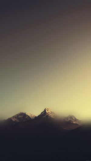 Mountain Blur Minimal Nature iPhone 7 wallpaper