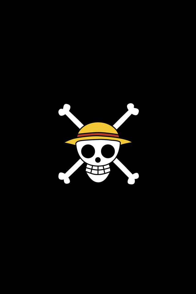 One Piece Logo Art Iphone 7 Wallpaper Iphone7wallpapers Co