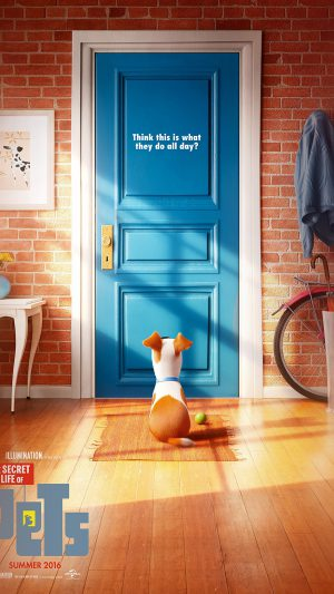 Pets Animation Cute Film Art Illustration iPhone 7 wallpaper