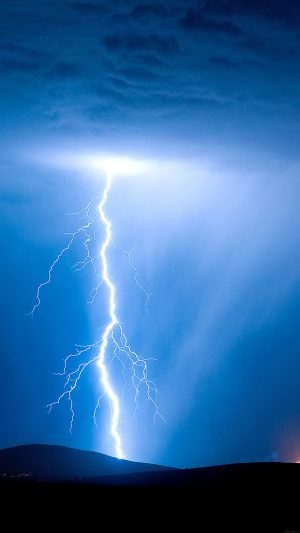 Psionic Storm Sky Nature iPhone 7 wallpaper