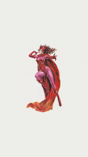 Scarlet Witch Avengers Comics Illust Art Film iPhone 7 wallpaper