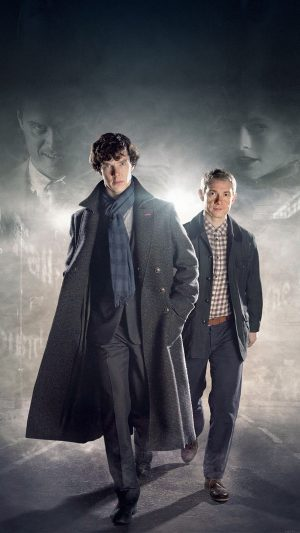 Sherlock 3 Film Face iPhone 7 wallpaper
