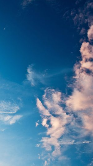 Sky Blue Cloud Sunny Clear Nature iPhone 7 wallpaper