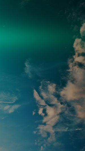 Sky Blue Green Cloud Sunny Clear Nature Flare Dark iPhone 7 wallpaper