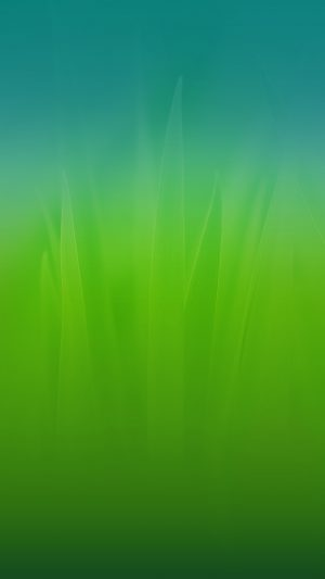Soft Blue Nature Green Blue Leaf Pattern iPhone 7 wallpaper