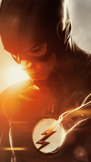 The Flash Tv Series Hero Film Art iPhone 7 wallpaper