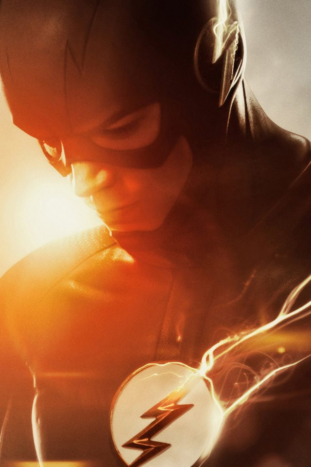 The Flash Tv Series Hero Film Art iPhone wallpaper
