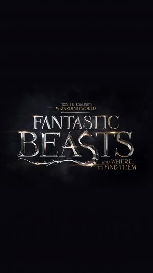 Title Dark Fantastic Beasts And Where To Find Them Film Illustration Art iPhone 7 wallpaper
