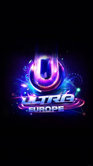 Ultra Europe Art Poster Music Party Concert iPhone 7 wallpaper