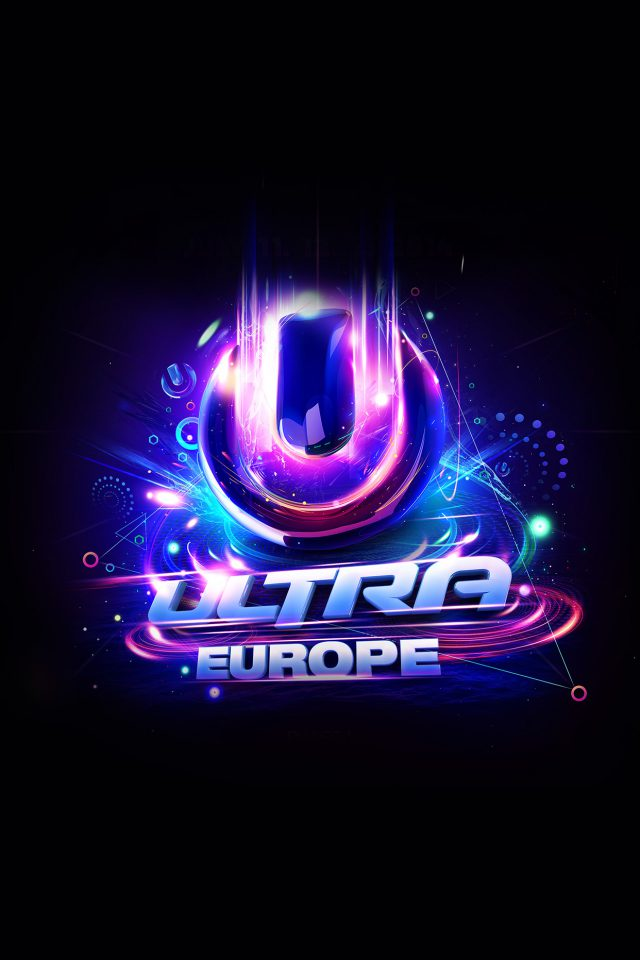 Ultra Europe Art Poster Music Party Concert iPhone wallpaper