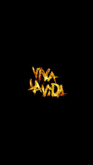 Viva La Vida Logo Music Art iPhone 7 wallpaper
