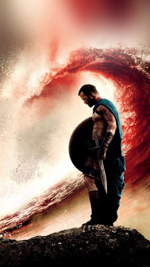 Wallpaper 300 Rise Of An Empire Wave Film iPhone 7 wallpaper