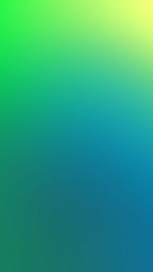 Green Apple Blue Yellow Blur iPhone 7 wallpaper