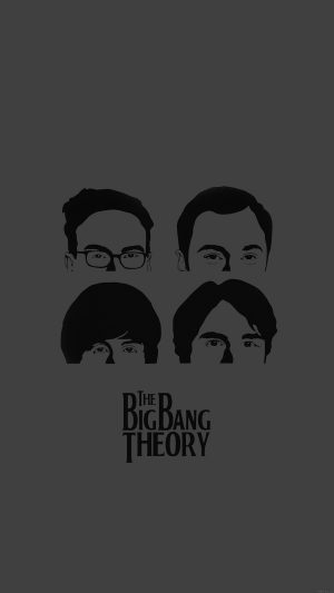 Wallpaper Bigbang Theory Guys Film Dark iPhone 7 wallpaper