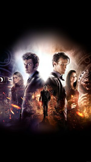 Wallpaper Doctor Who 50th Poster Film Face iPhone 7 wallpaper