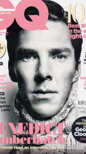Wallpaper Gq Benedict Cumberbatch Face Film iPhone 7 wallpaper