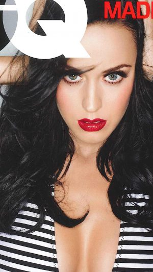 Wallpaper Gq Katy Perry Girl Music Face iPhone 7 wallpaper