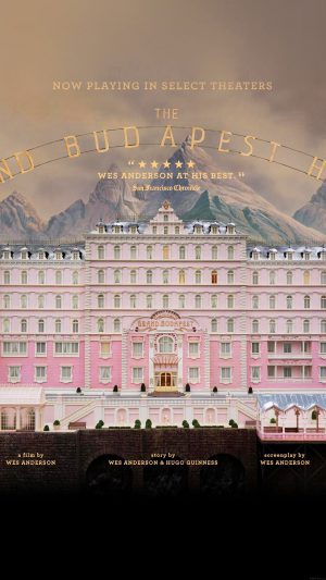 Wallpaper Grand Budapest Hotel Film Poster iPhone 7 wallpaper