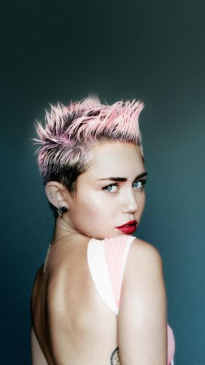 Wallpaper Miley Cyrus For V Face Music iPhone 7 wallpaper