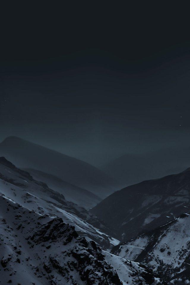 Top Wallpaper Night Iphone 7 - Wallpaper-Nature-Earth-Dark-Asleep-Mountain-Night-640x960  You Should Have-668327.jpg