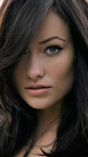 Wallpaper Olivia Wilde Stare Face Girl Film iPhone 7 wallpaper