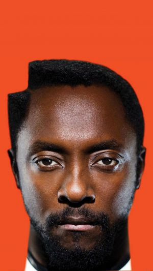 Wallpaper Will.i.am William Music Face iPhone 7 wallpaper