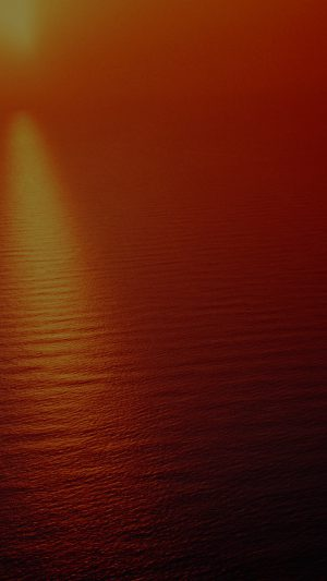 Water Ocean Red Sunset Nature Dark Texture Pattern iPhone 7 wallpaper