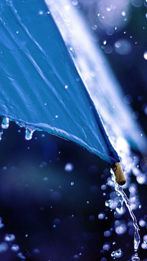 Water Umbrella Nature iPhone 7 wallpaper