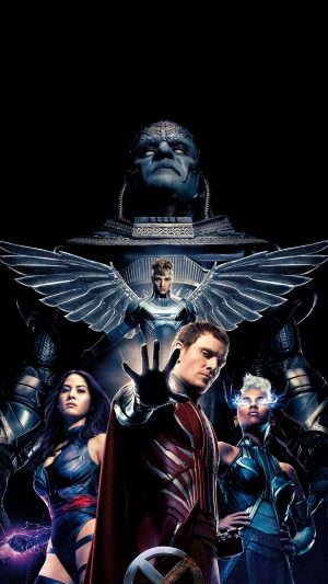 Xmen Apocalypse Poster Film Hero Destroy iPhone 7 wallpaper