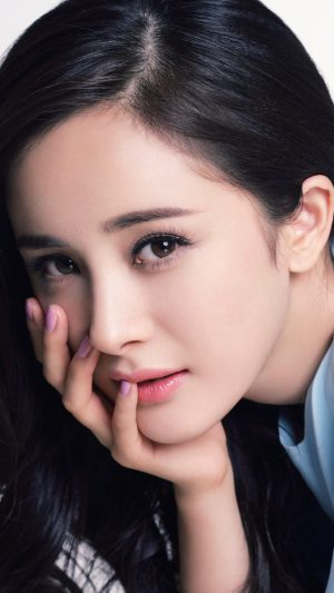 Yang Mi Chinese Star Beauty Film iPhone 7 wallpaper