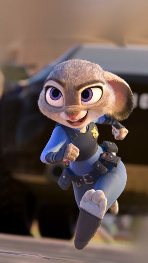 Zootopia Zudy Hopps Disney Art Cute Animal iPhone 7 wallpaper