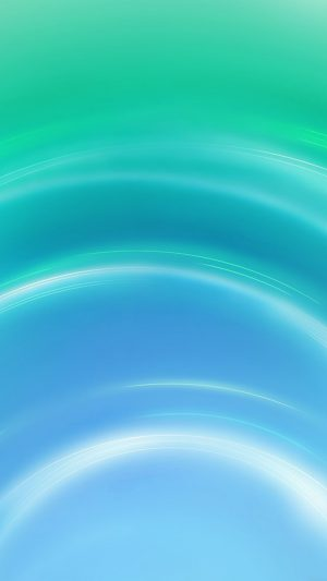 Circle Blue Green Abstract Light Pattern iPhone 7 wallpaper