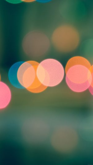 Light Bokeh Blur Pattern iPhone 7 wallpaper