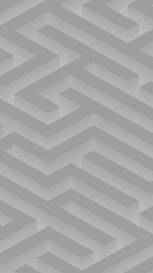 Maze Art White Abstract Patterns iPhone 7 wallpaper