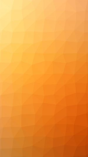 Orange Polygon Art Abstract Pattern iPhone 7 wallpaper