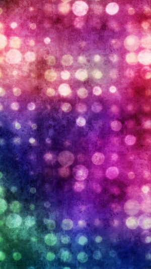 Party Light Bokeh Color Pattern iPhone 7 wallpaper