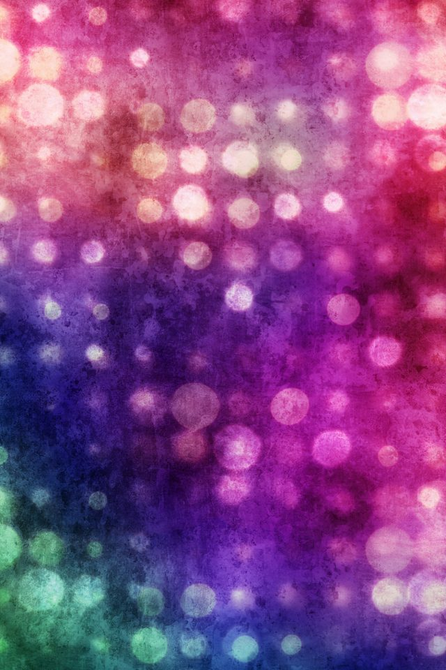Party Light Bokeh Color Pattern iPhone wallpaper