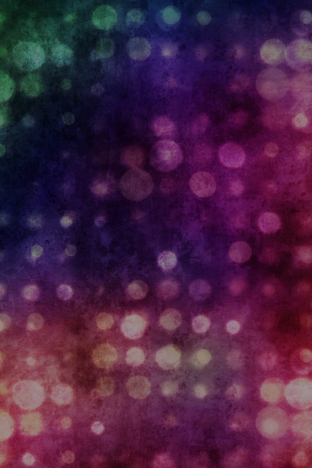Party Light Vintage Bokeh Color Pattern iPhone wallpaper