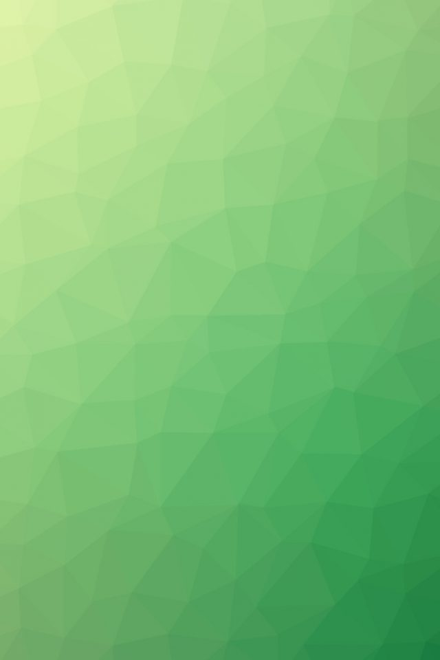 Poly Art Abstract Green Pattern iPhone wallpaper
