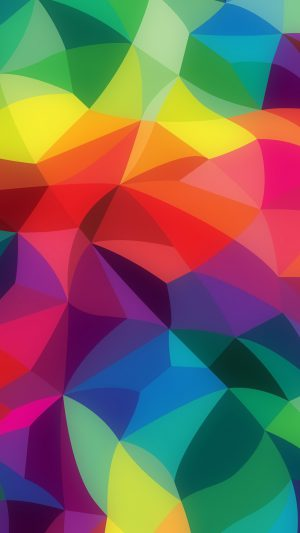 Rainbow Abstract Colors Pattern iPhone 7 wallpaper